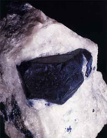 Lazurite Crystal photo image