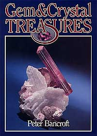 Gem & Crystal Treasures, Peter Bancroft cover