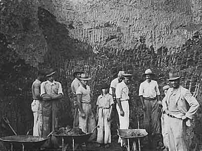 Mining Topaz Near Ouro Prêto photo image