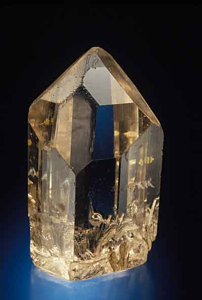 Brown Topaz Crystal from the Mogok photo image