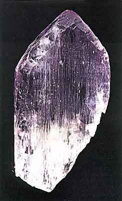 Kunzite Crystal from Laghman, Afghanistan photo image