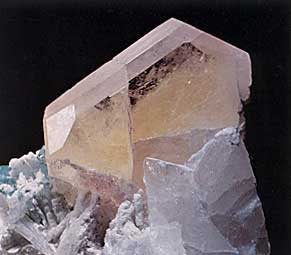Morganite Beryl from Nuristan, Afghanistan photo image