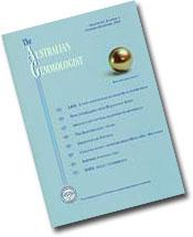 Australian Gemmologist cover image