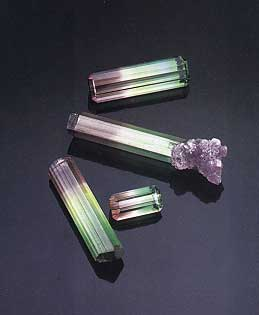 Bi-Color Tourmaline photo image