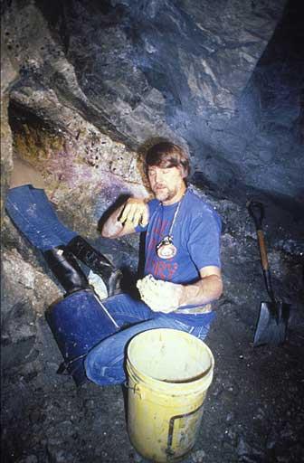 Bill Larson and John McLean in Himalaya Miine photo image