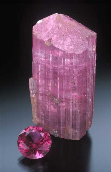 Pink Tourmaline photo image
