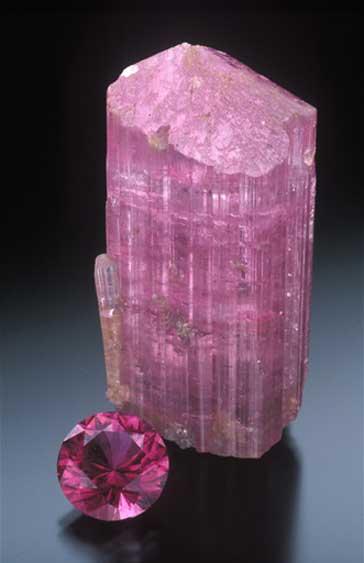 Pink Tourmaline photo image