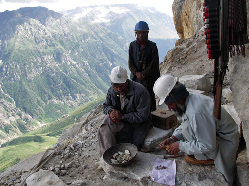 Gem Mining Platform in Pakistan photo image