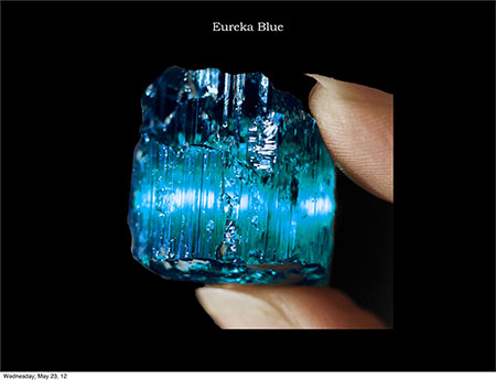 Eureka Blue Specimen photo image