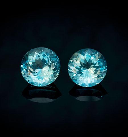 Aquamarine Pair photo image