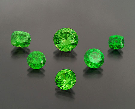 Demantoid Garnet Suite photo image