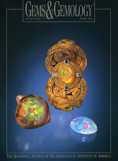 Gems and Gemology cover image