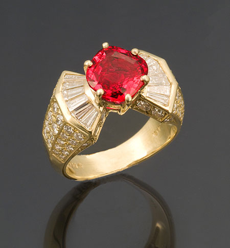 Winza Ruby Ring photo image