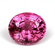 Oval Pink Spinel photo image