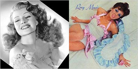 Rita Hayworth and Roxy Music cover image