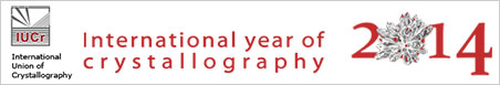International Year of Crystallography logo image