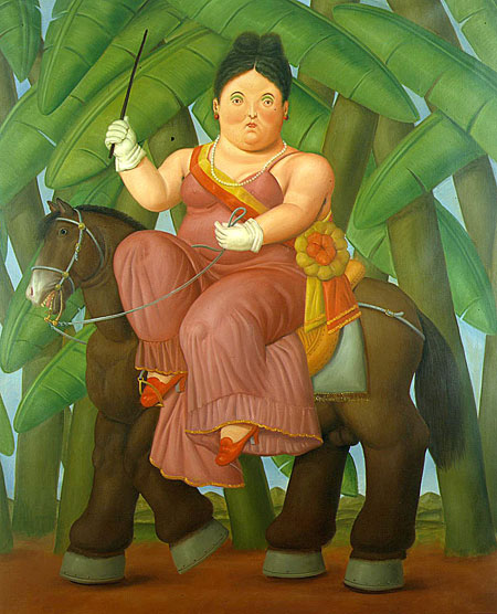 Botero's The First Lady