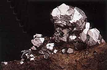 Sperrylite Crystals photo image