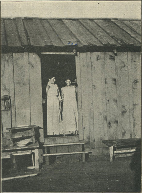 Girls In Doorway photo image
