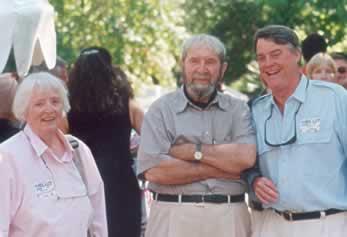 John and Marge Sinkankas with Bill Larson