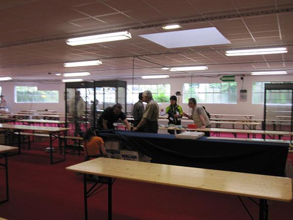 Foreign Hall Setup photo image
